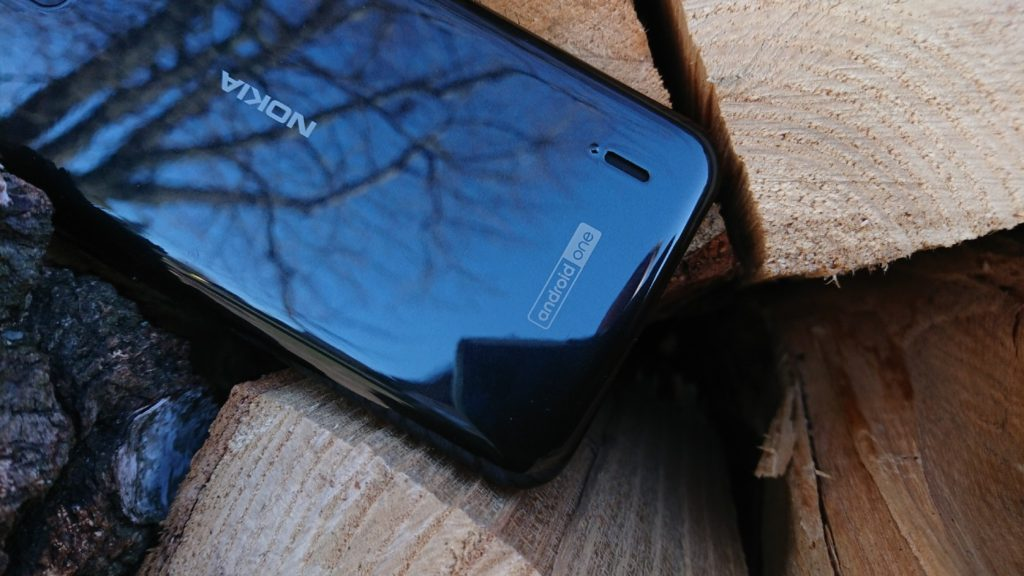 Nokia 2.2 plecki smartfona z napisem Android One