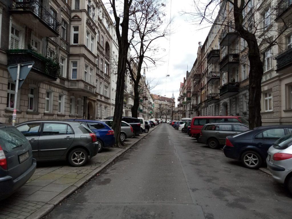 Nokia 2.2 zdjęcie ulicy w Poznaniu