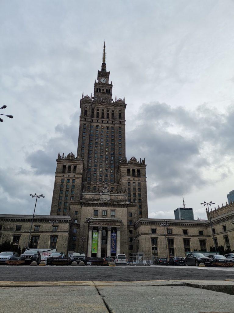 P40 Lite Pałac Kultury i Nauki w Warszawie