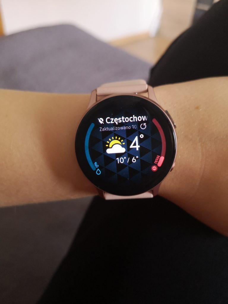 wyświetlacz galaxy watch 2
