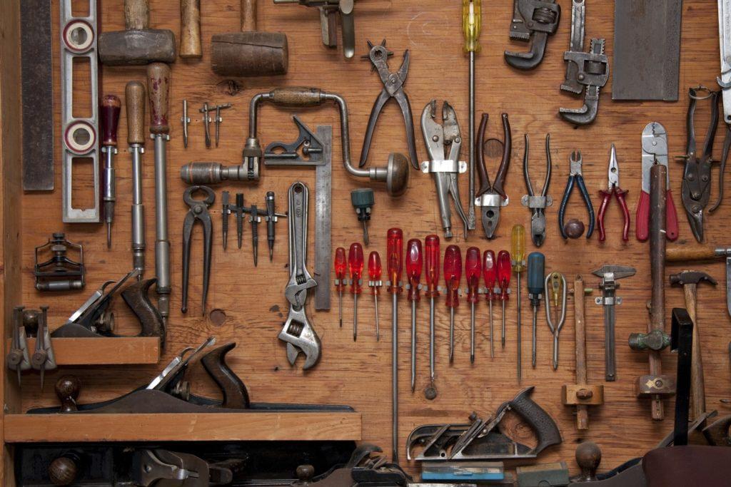 Uporządkowane narzędzia