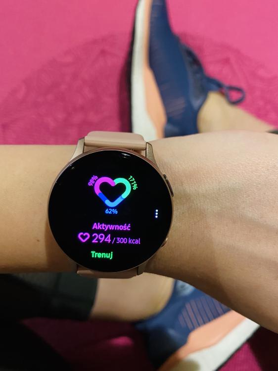 Samsung Galaxy Watch Active 2 - ekran