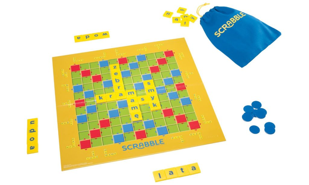scrabble junior mattel gra