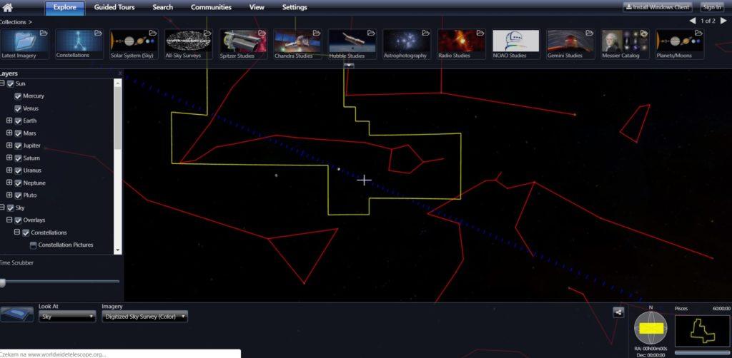 wirtualny teleskop