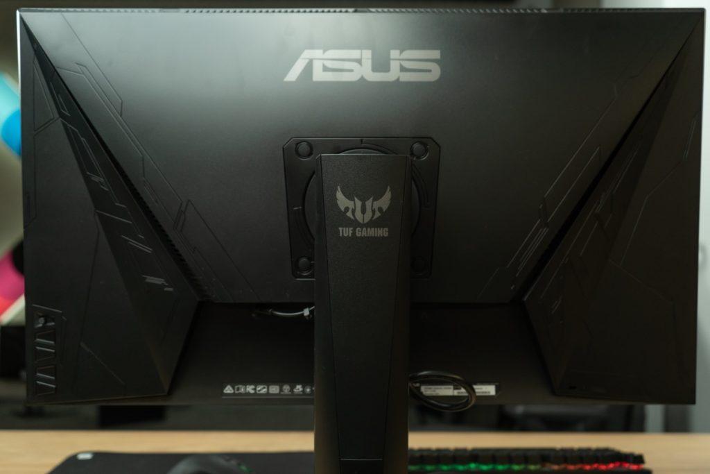 tył monitora ASUS TUF VG279QM HDR