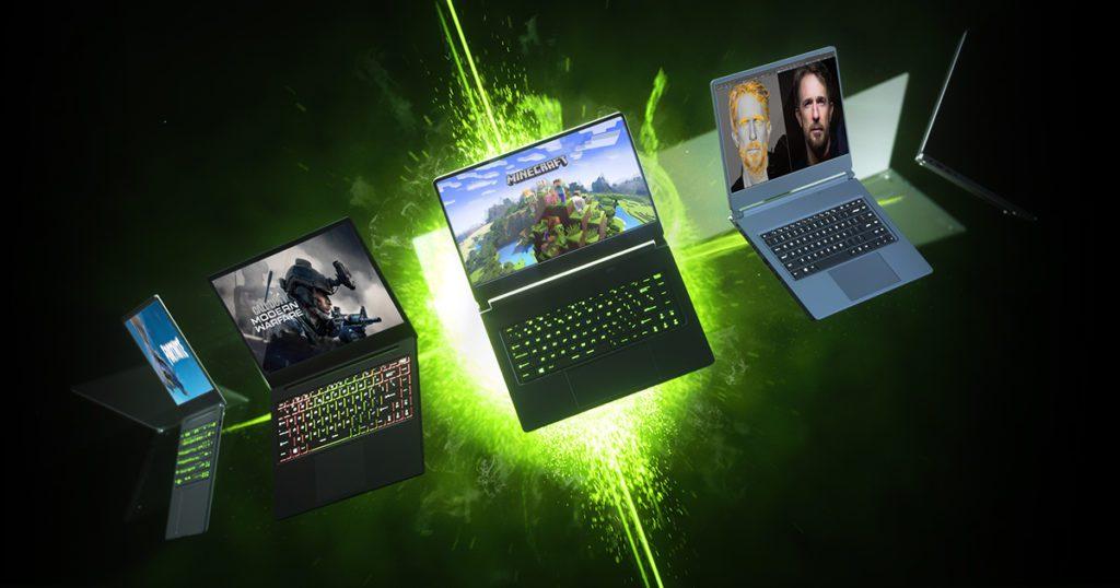 Nvidia RTX laptopy top baner