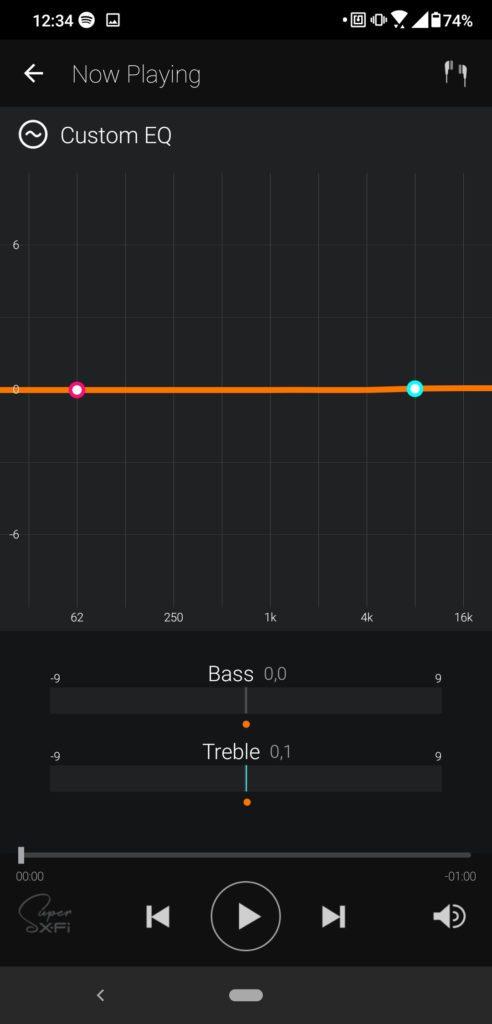 Aplikacja SXFI korektor graficzny