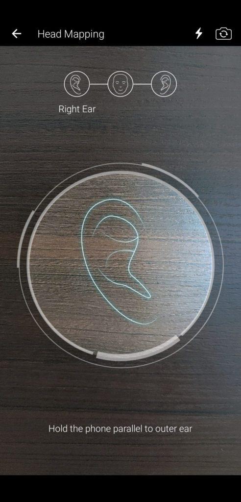 Aplikacja SXFI kalibracja pod ucho