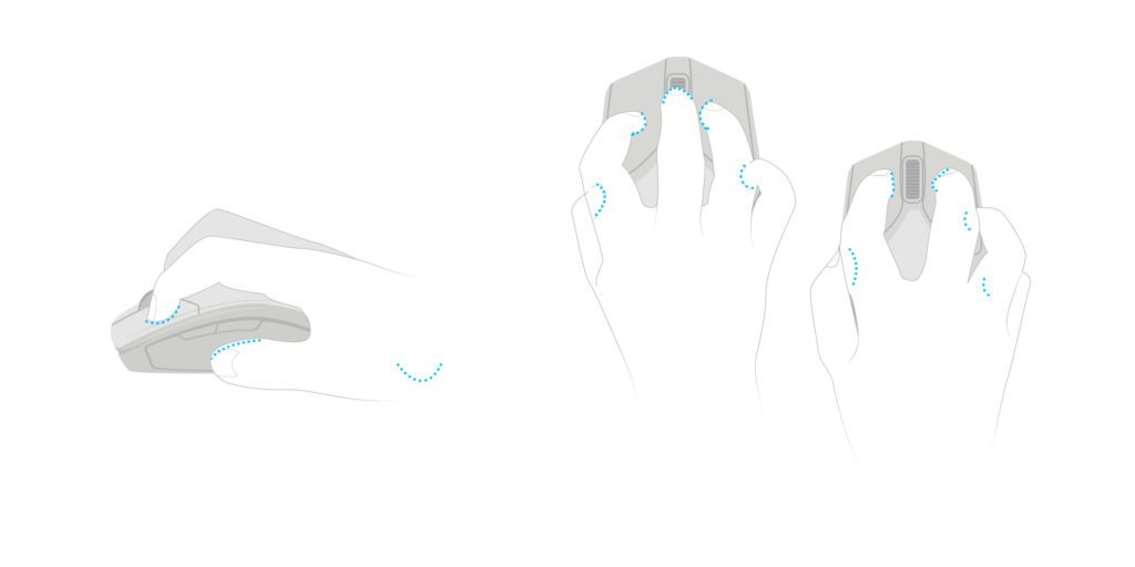 Claw grip rodzaje chwytów