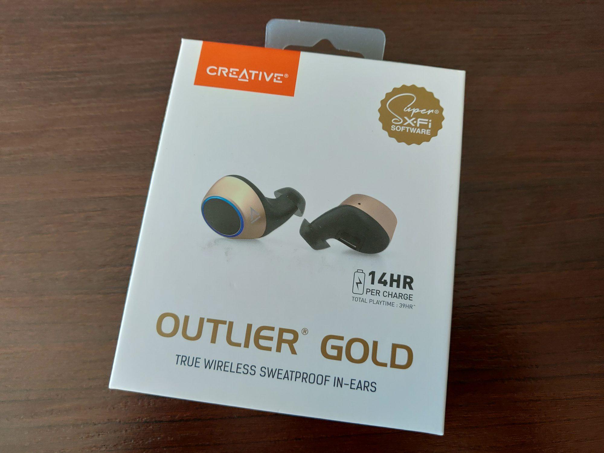 Creative Outlier Gold pudełko