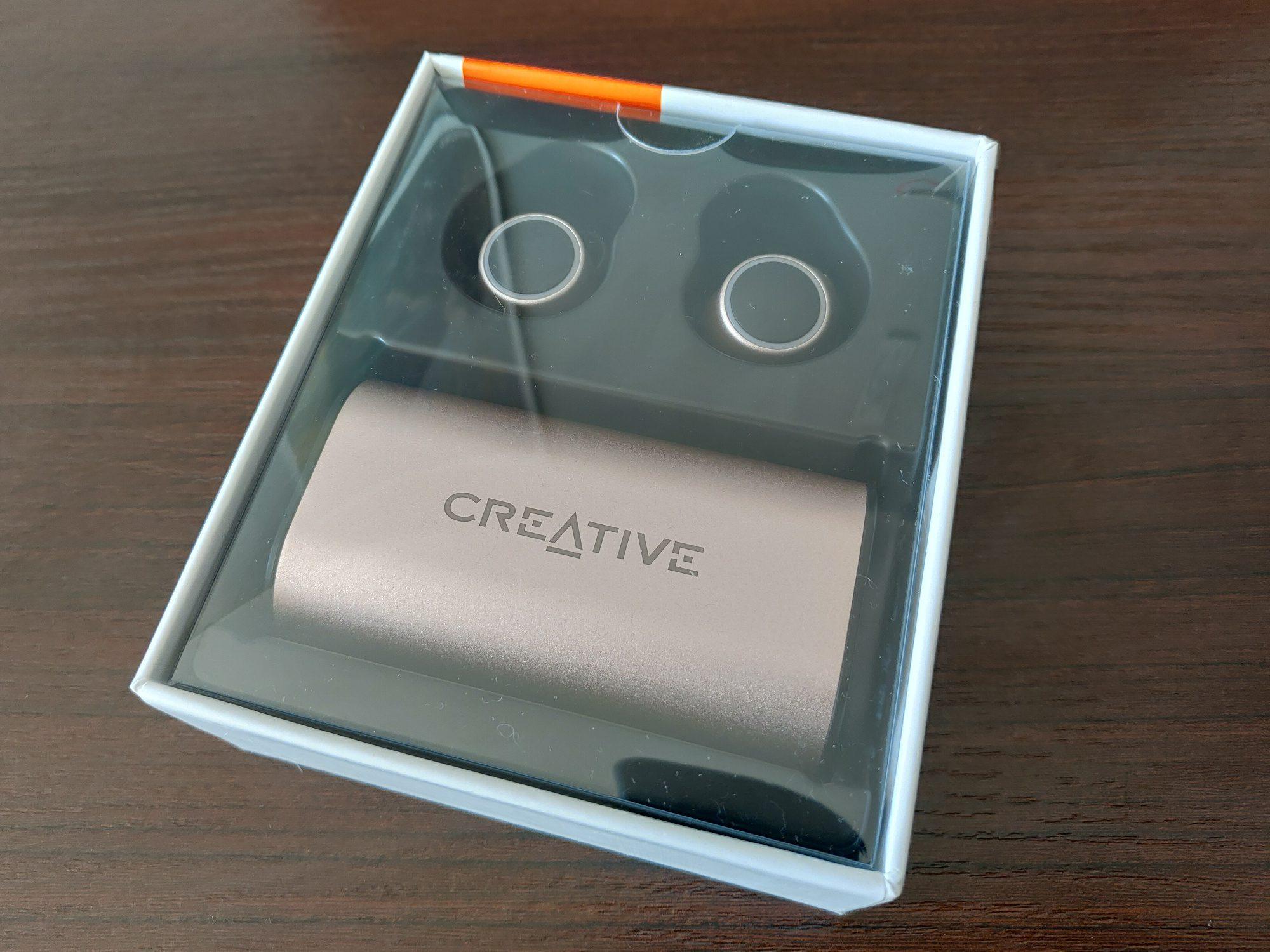 Creative Outlier Gold wnętrze pudełka
