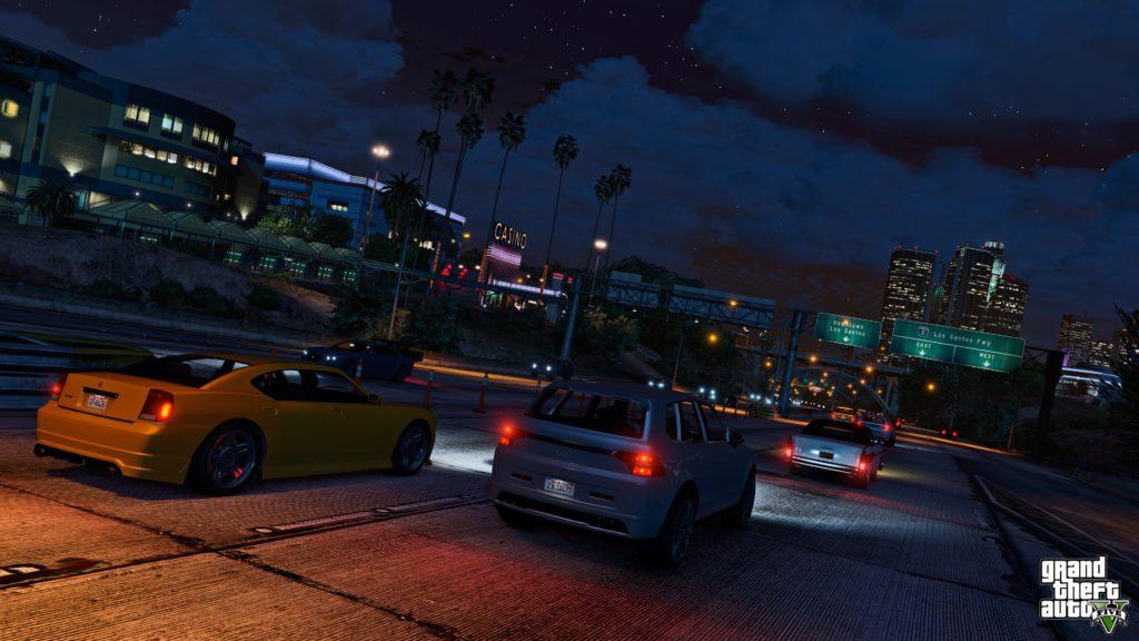 GTA 5 cars screenshot