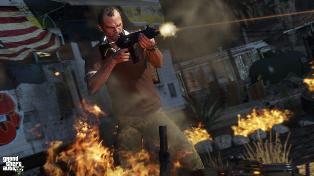 GTA 5 trevor screenshot