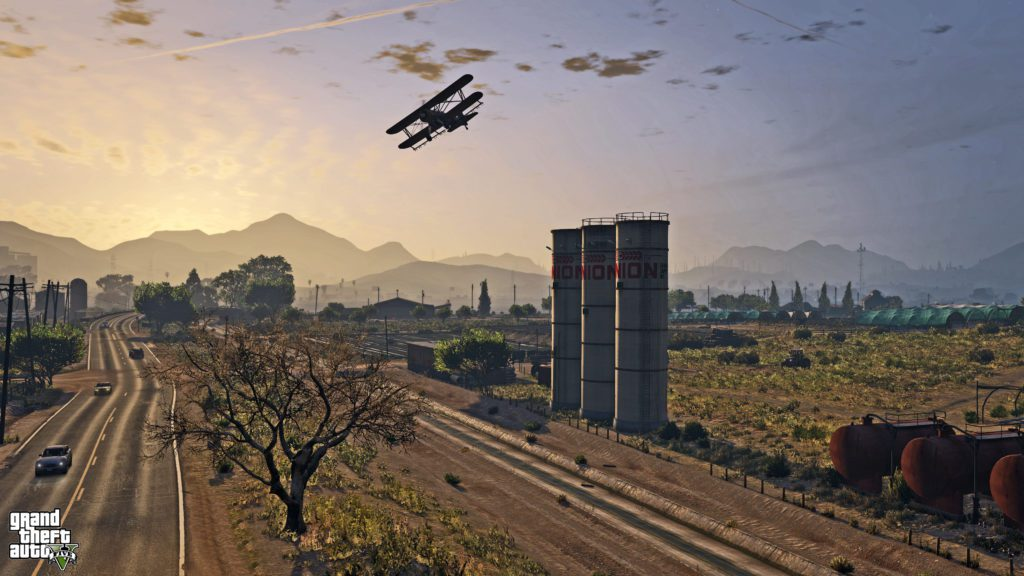 GTA 5 world screenshot