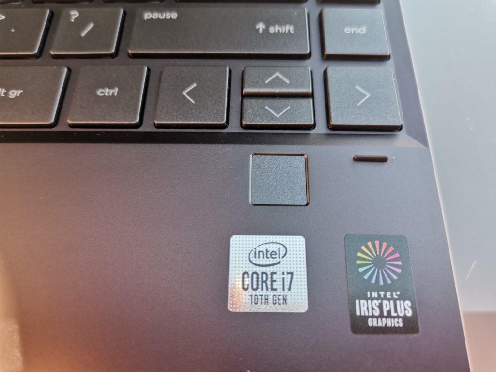 HP spectre x360 czytnik linii