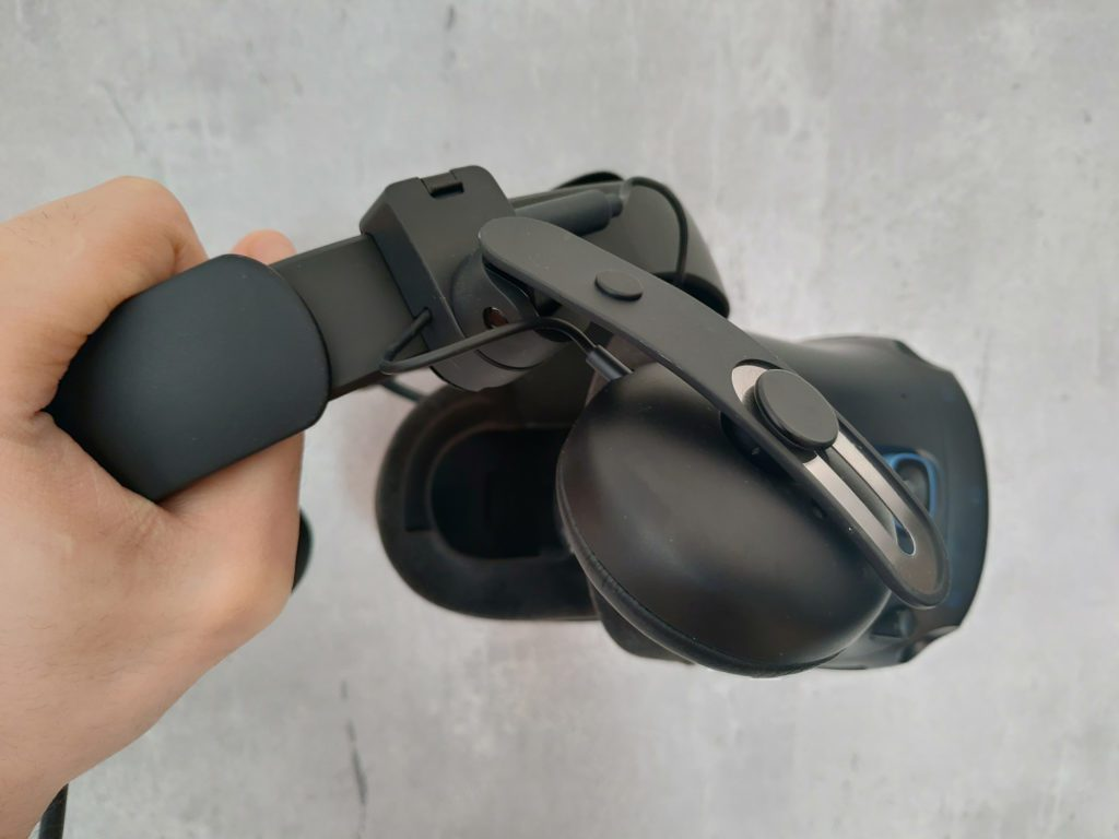 HTC VIVE Cosmos Elite element montażowy słuchawek bocznych