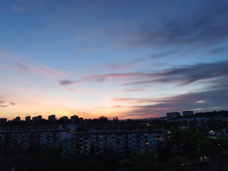 nocne Huawei P40 Pro