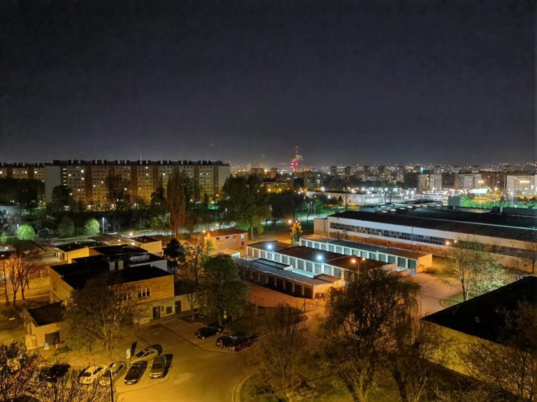 zdjęcie nocne Huawei P40 Pro
