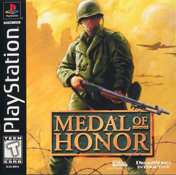 Medal of Honor PS1 gra