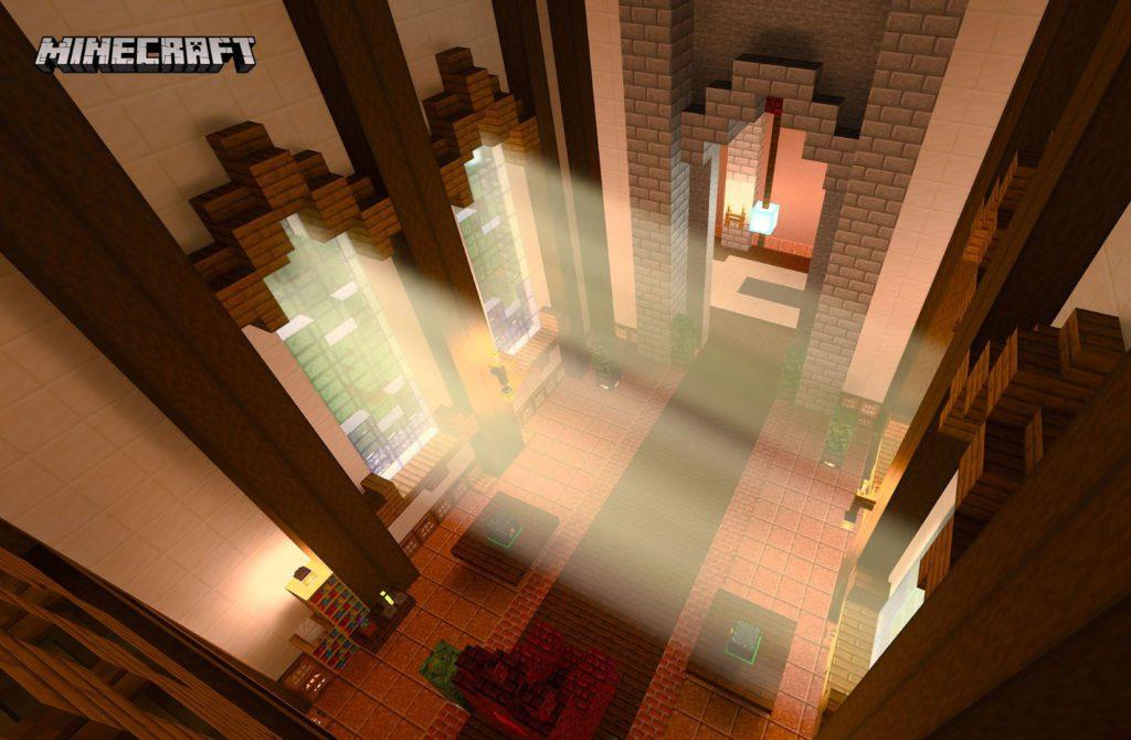 Minecraft RTX ON screenshot