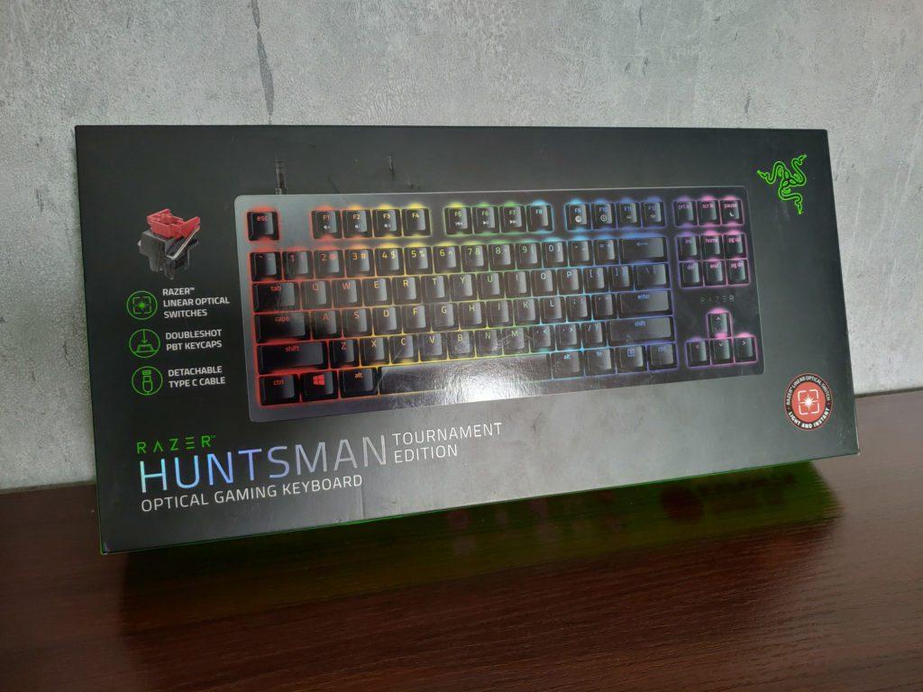 Razer Huntsman Tournament Edition opakowanie klawiatury