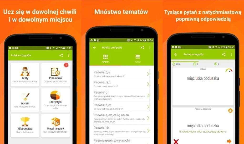 aplikacja polska ortografia