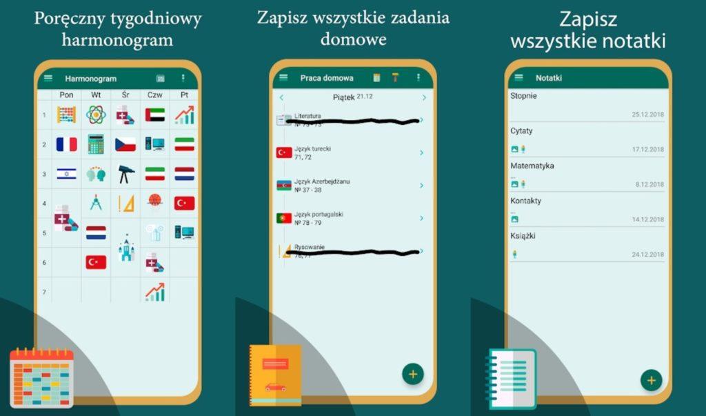aplikacja School