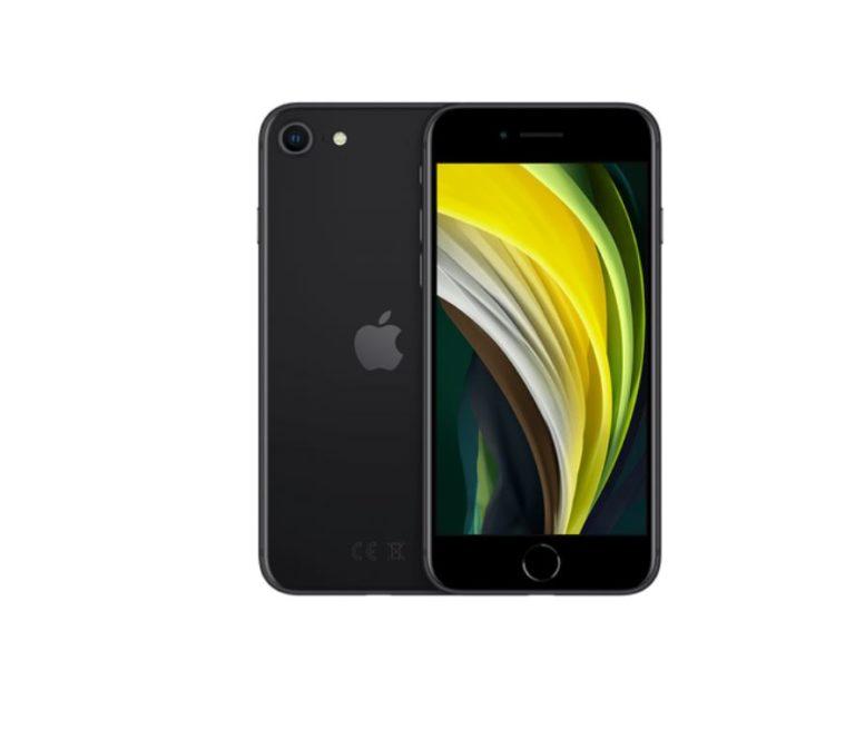 czarny iphone se