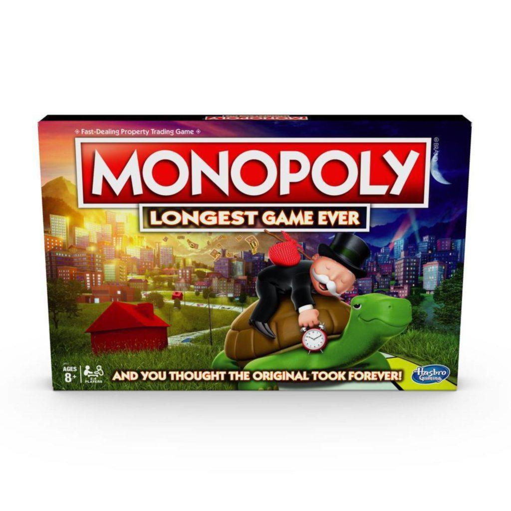 monopoly najdłuższa gra