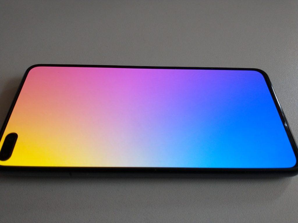 huawei p40 display