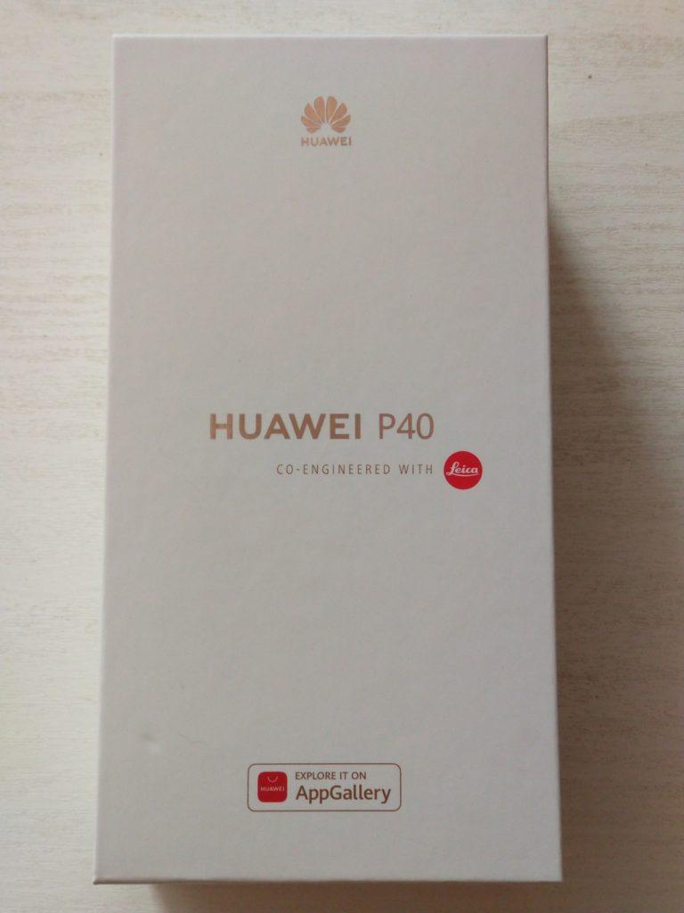 huawei p40 zapakowany
