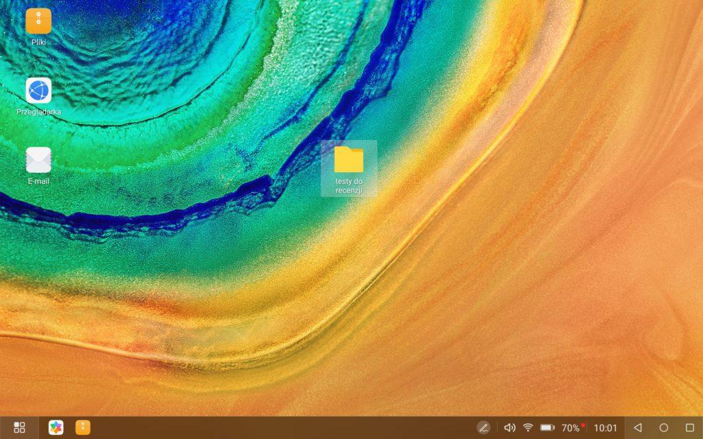 huawei matepad pro tryb desktop