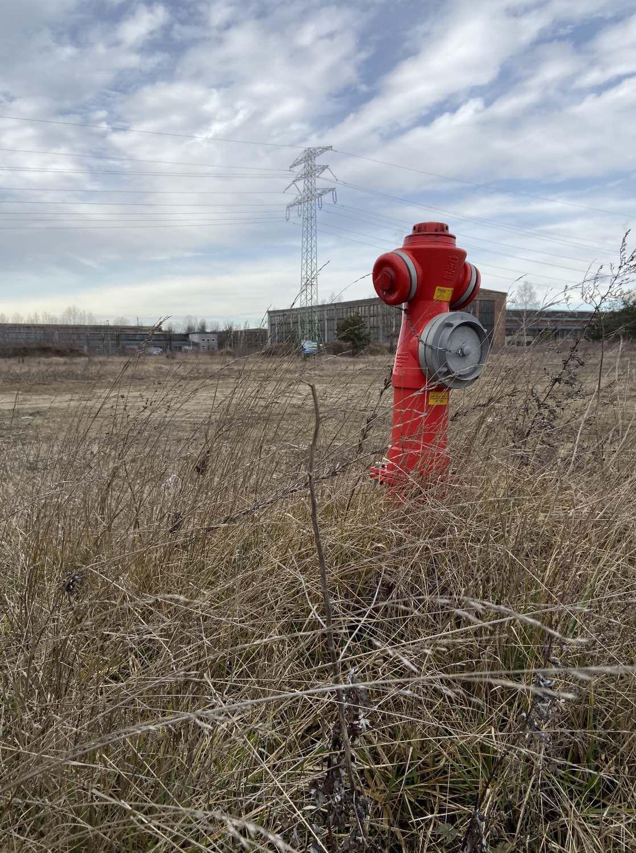 hydrant czerwony