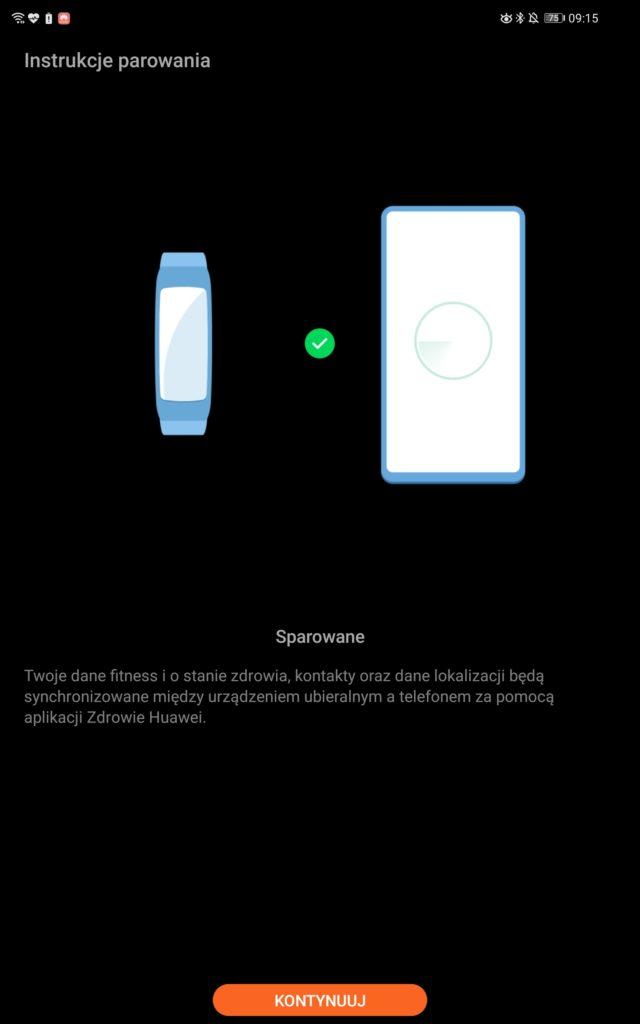 huawei matepad pro inteligentne odblokowywanie