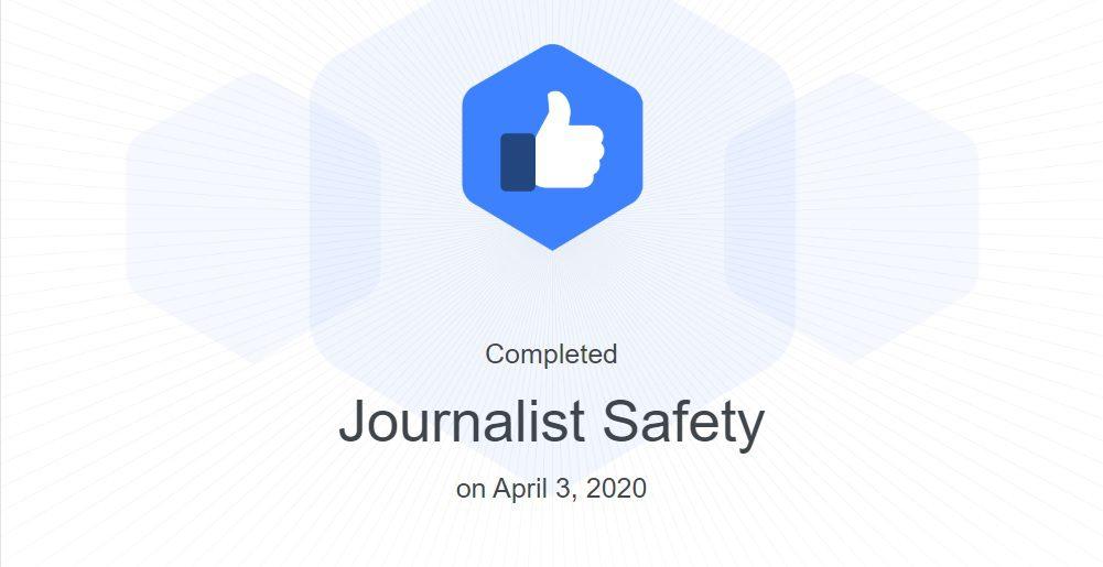 ukończenie kursu na Facebook Blueprint