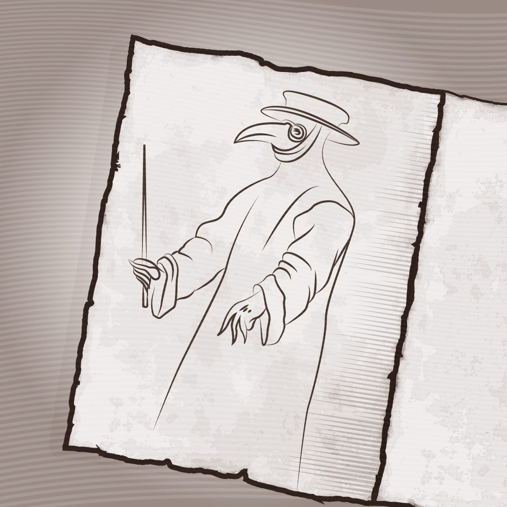 luneta futura czarna śmierć lekarz