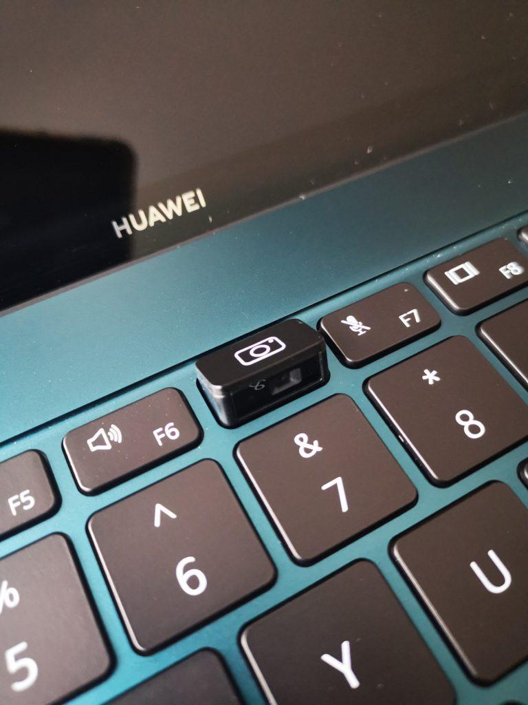 MateBook X Pro 2020 otwarta kamera internetowa