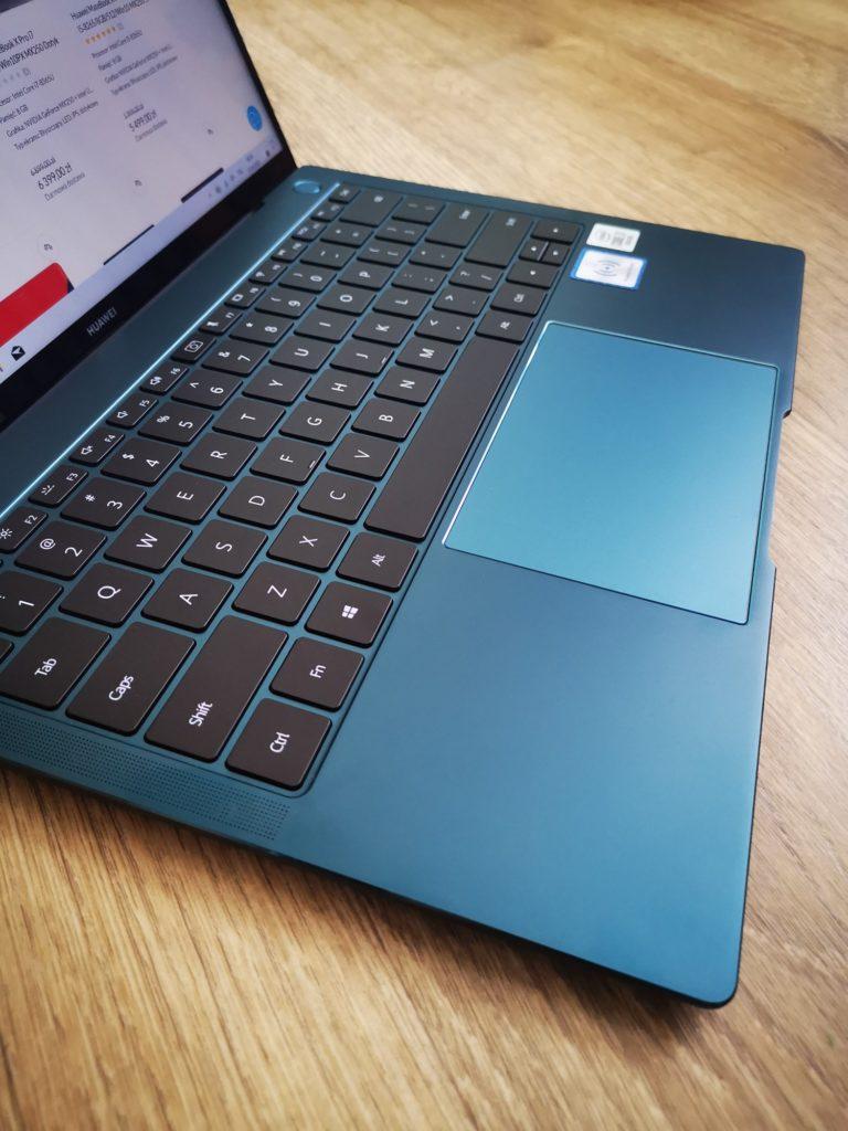 Klawiatura i gładzik MateBook X Pro 2020