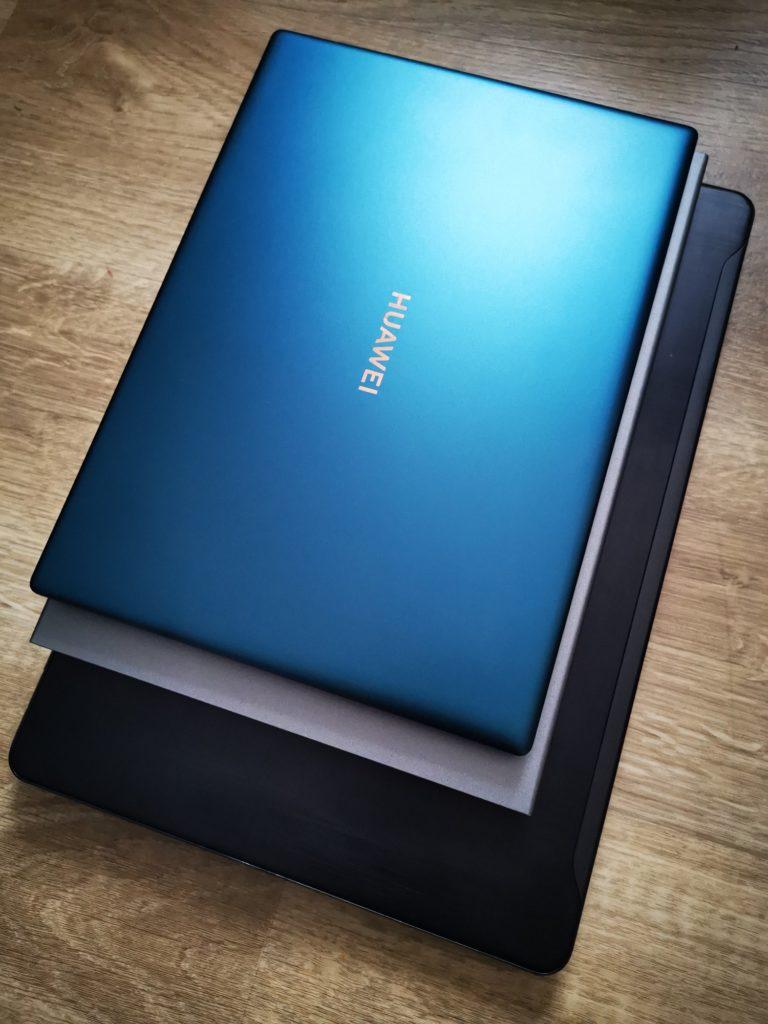 MateBook X Pro 2020 porównanie wielkości z innymi laptopami