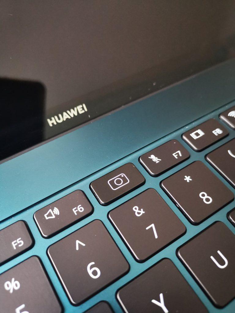 MateBook X Pro 2020 schowana kamera internetowa