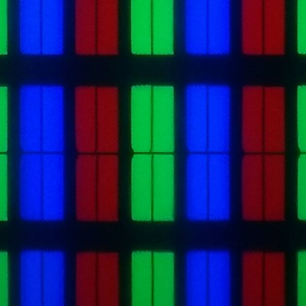 """wygląd pikseli matrycy telewizora xiaomi mi led tv 4s 55"""""""