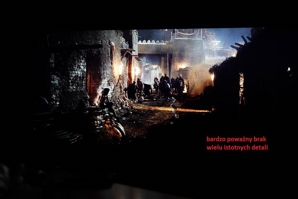 obraz na ekranie samsunga 55q70rw