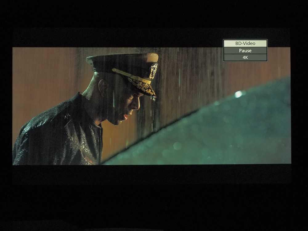 """kadr z filmu ocean ognia na ekranie telewizora Xiaomi Mi LED TV 4S 55"""""""
