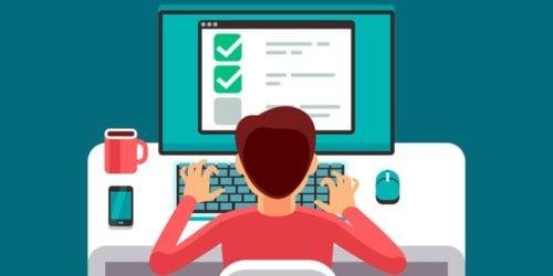 Testy online dla uczniów. Jak sprawdzać zdobytą wiedzę w trakcie e-learningu. Poradnik nauczyciela