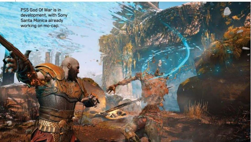 playstation magazine god of war 2