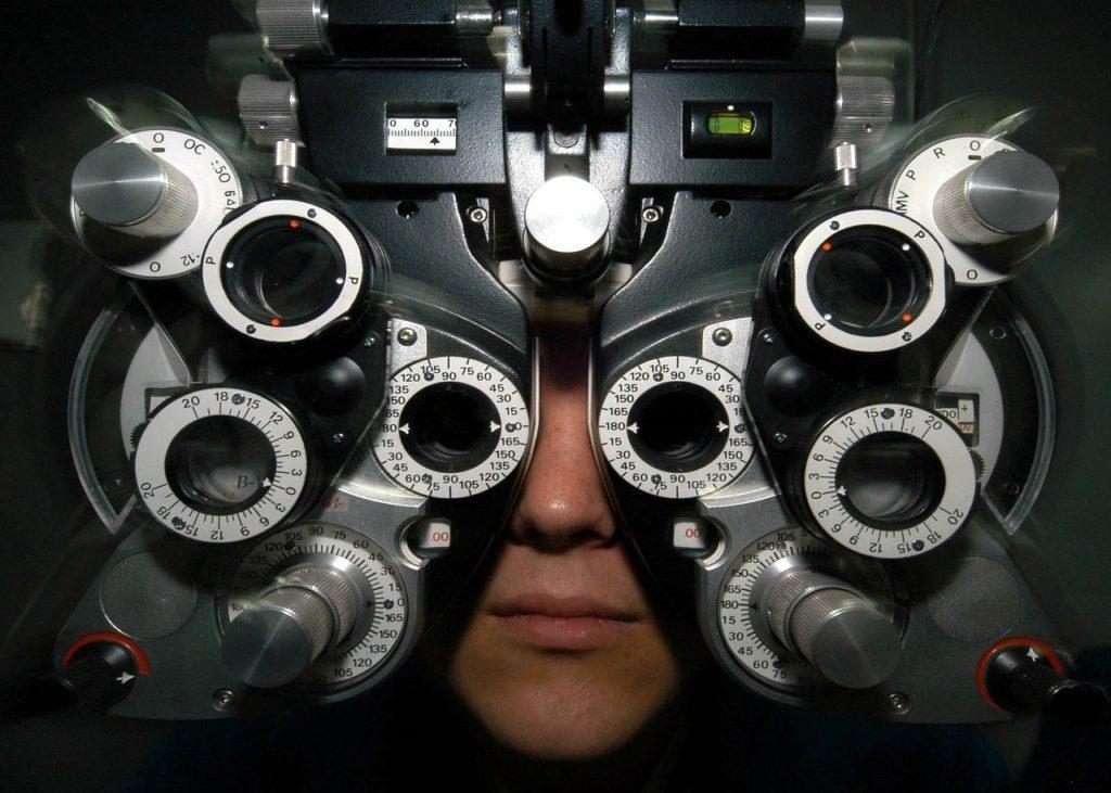 Takie różne przyrządy do badania wzroku