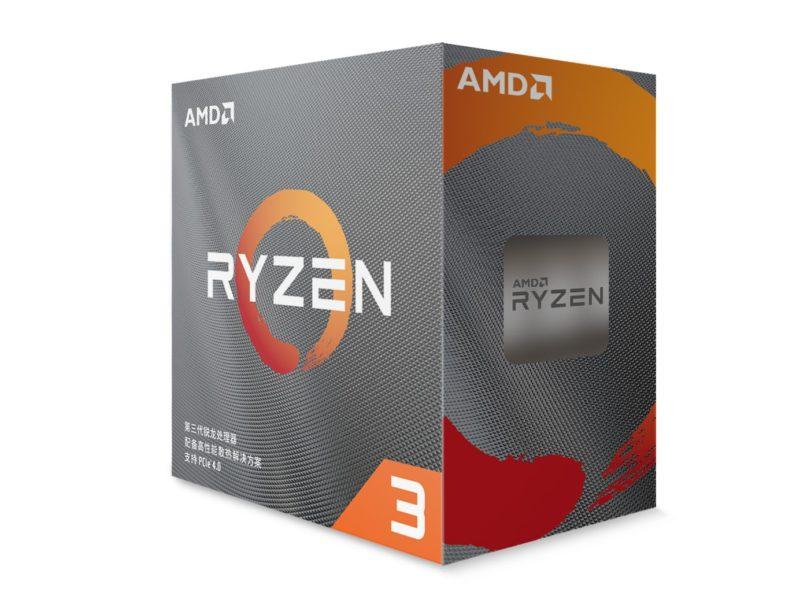 AMD Ryzen 3 3300X i Ryzen 3 3100 już oficjalnie. Oto ich specyfikacja