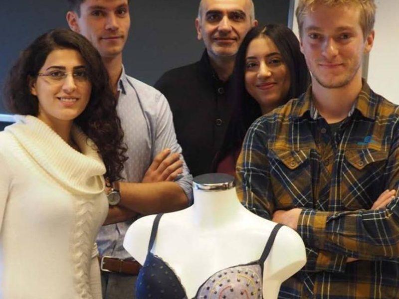 Szwajcarscy studenci opracowali inteligentny biustonosz do wykrywania wczesnego stadium raka piersi