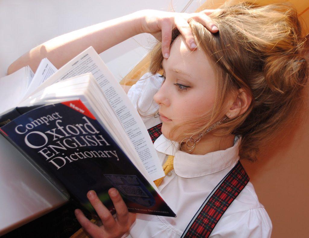 tłumaczenie znaczeń słów ze słownikiem