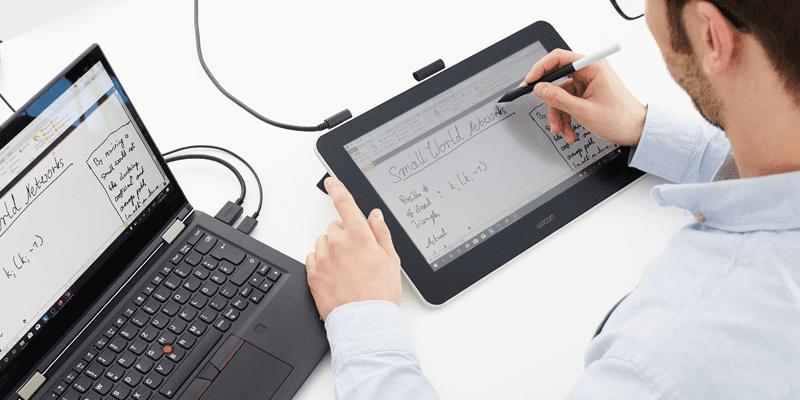 Grafiki, szkice i wykresy podczas zajęć online? Z tabletami graficznymi Wacom to dużo prostsze